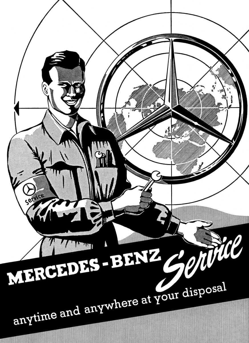 Mercedes Benz Ponton Workshop 1960 300d Fuel Filter