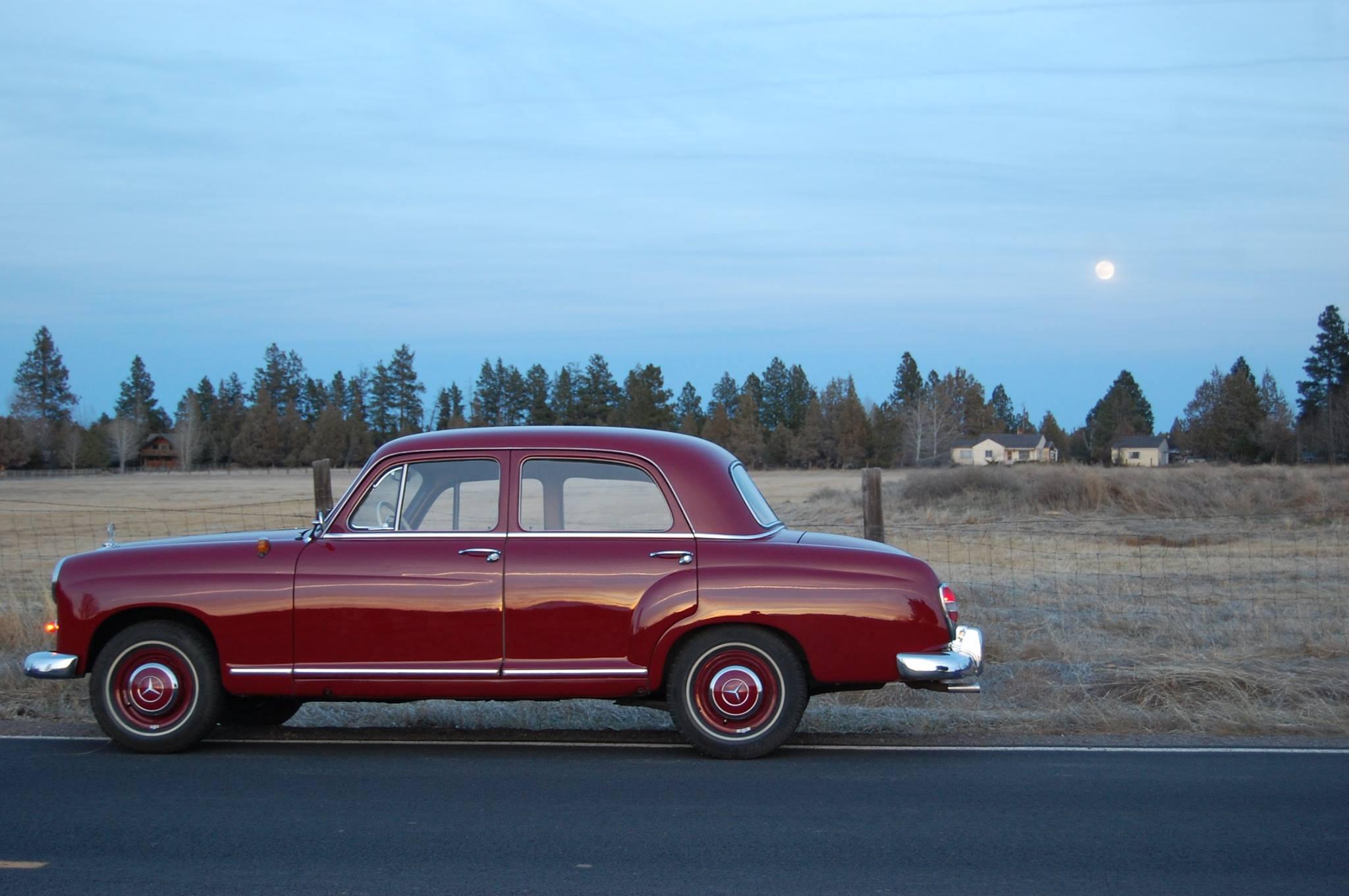 Mercedes Benz Pontons 1953 1962