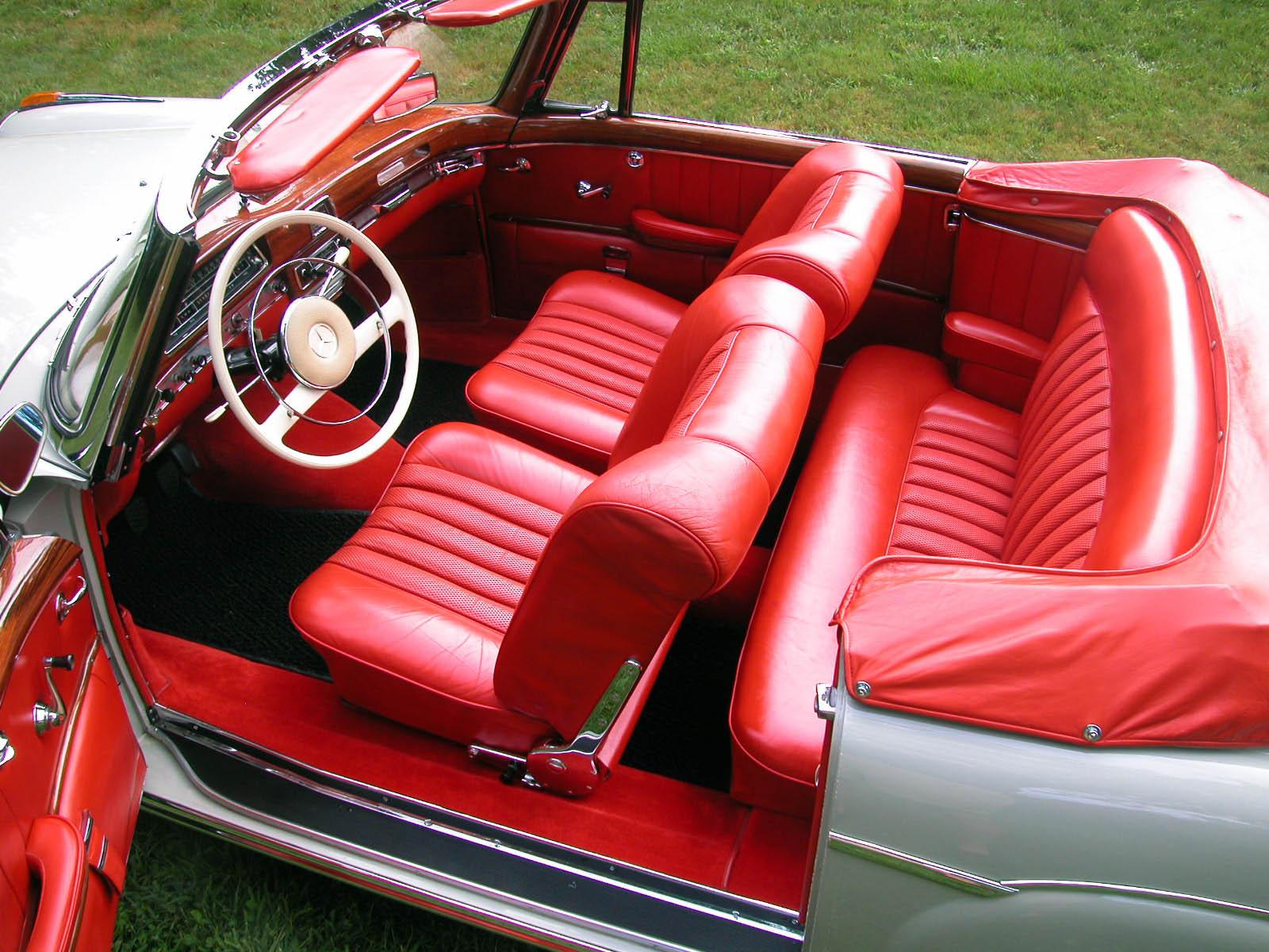 1960 Mercedes Benz Type 220se Cabriolet For Sale