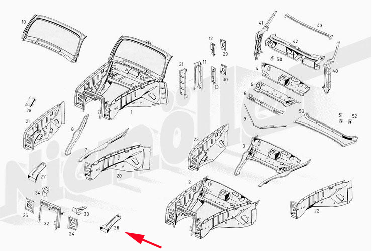 Wanted Air Channel Pipe For 1958 Mercedesbenz Type W180 220s: 1958 220s Mercedes Engine Diagram At Hrqsolutions.co