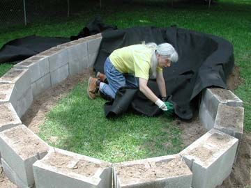 Backyard turtle pond for Diy small pond ideas