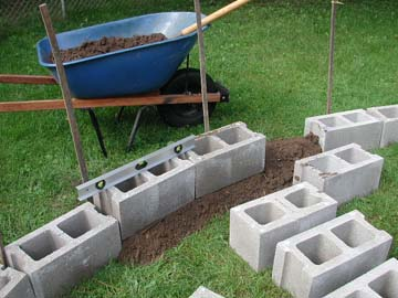 Backyard turtle pond for Cinder block pond