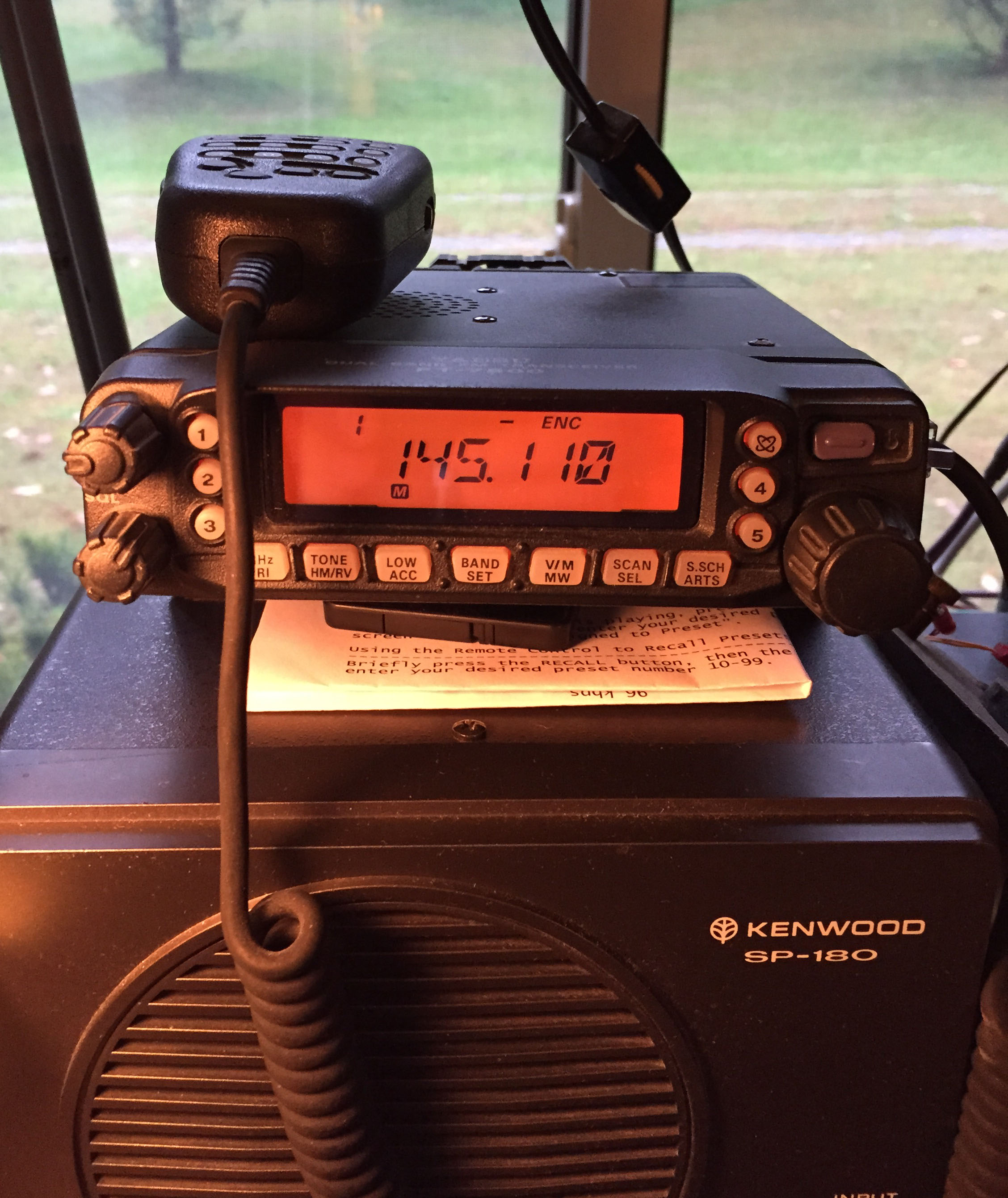 amateur radio station nawa yaesu ft 7800r dual band 2 meter 70 centimeter fm transceiver original photo 18