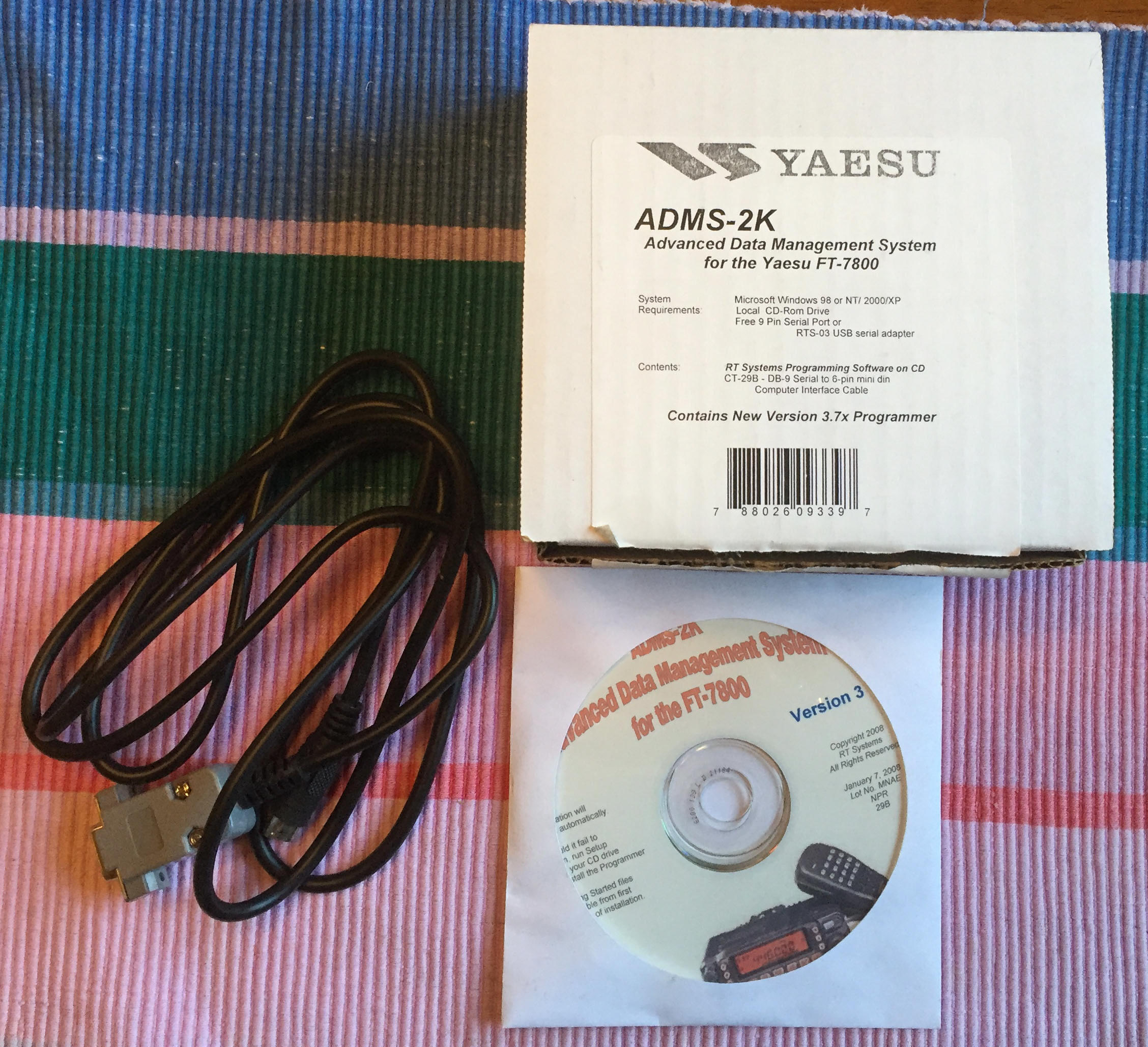 amateur radio station nawa adms 2k cloning kit for yaesu ft 7800 photo 16 2016 iphone 6
