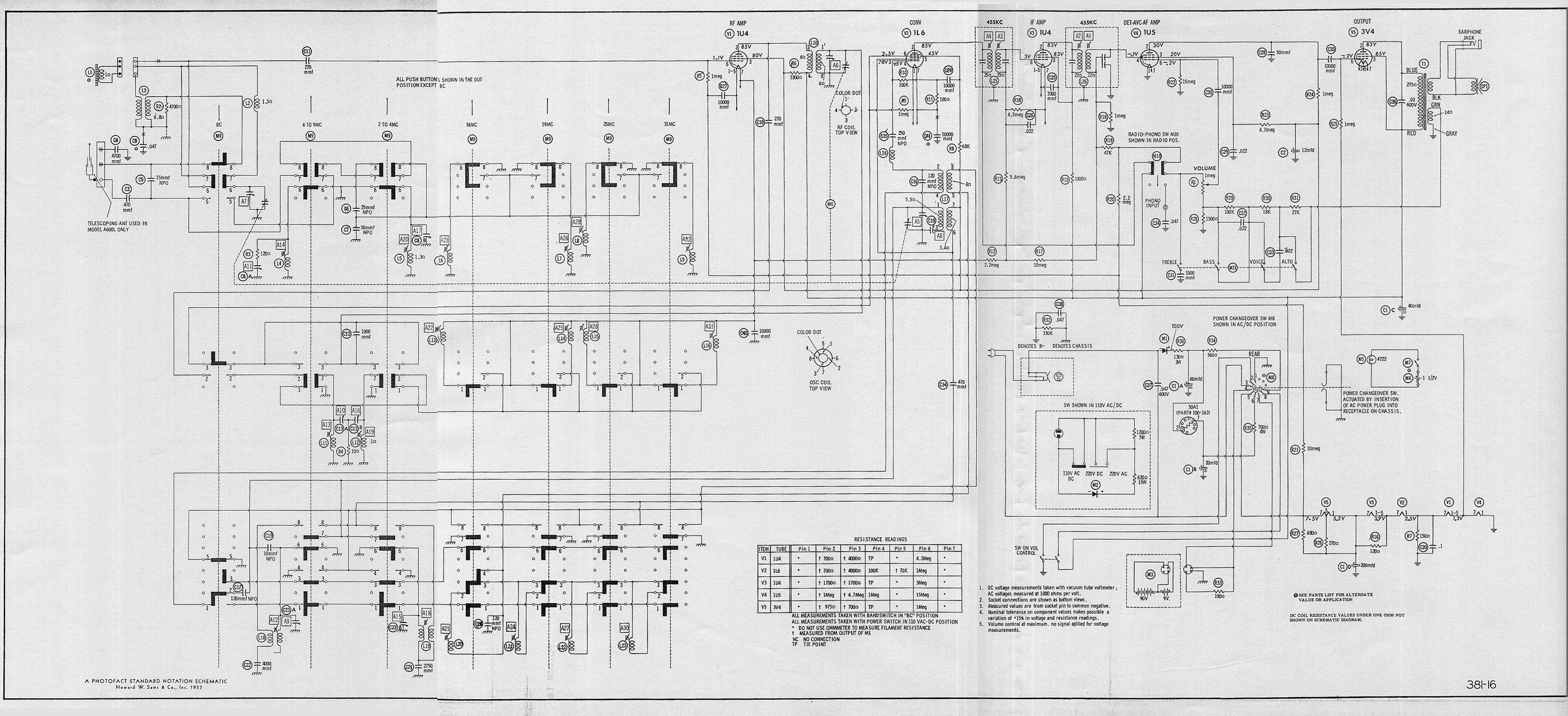 radio_Zenith_TO_B600_schema antique radio forums \u2022 view topic zenith transoceanic b600 Aftermarket Radio Wiring Diagram at readyjetset.co