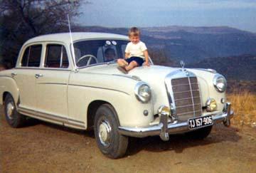 1962 Mercedes Ponton