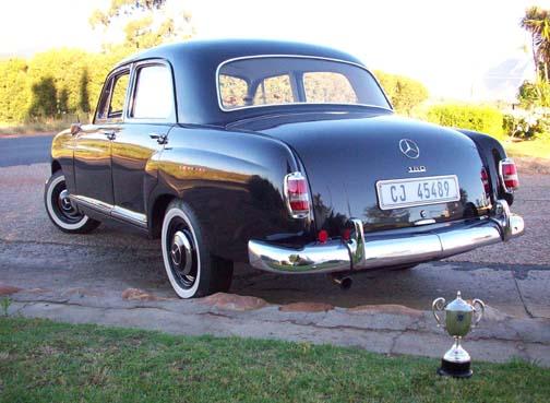 Mercedes benz 180 1960 for Hendricks mercedes benz
