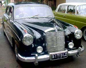 Bambang 39 s 1958 mercedes benz 220s ponton sedan www for 1958 mercedes benz 220s for sale