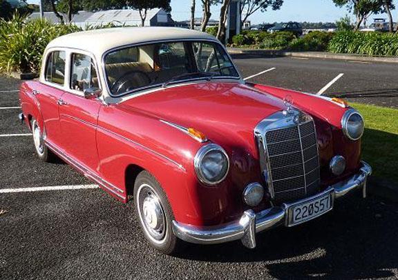 Jeff bennet 39 s 1957 mercedes benz 220s ponton sedan www for 1957 mercedes benz 220s