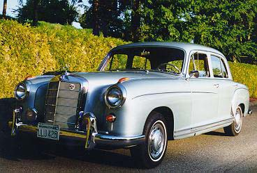 ray ilich 39 s 1959 mercedes benz 220s ponton sedan www. Black Bedroom Furniture Sets. Home Design Ideas
