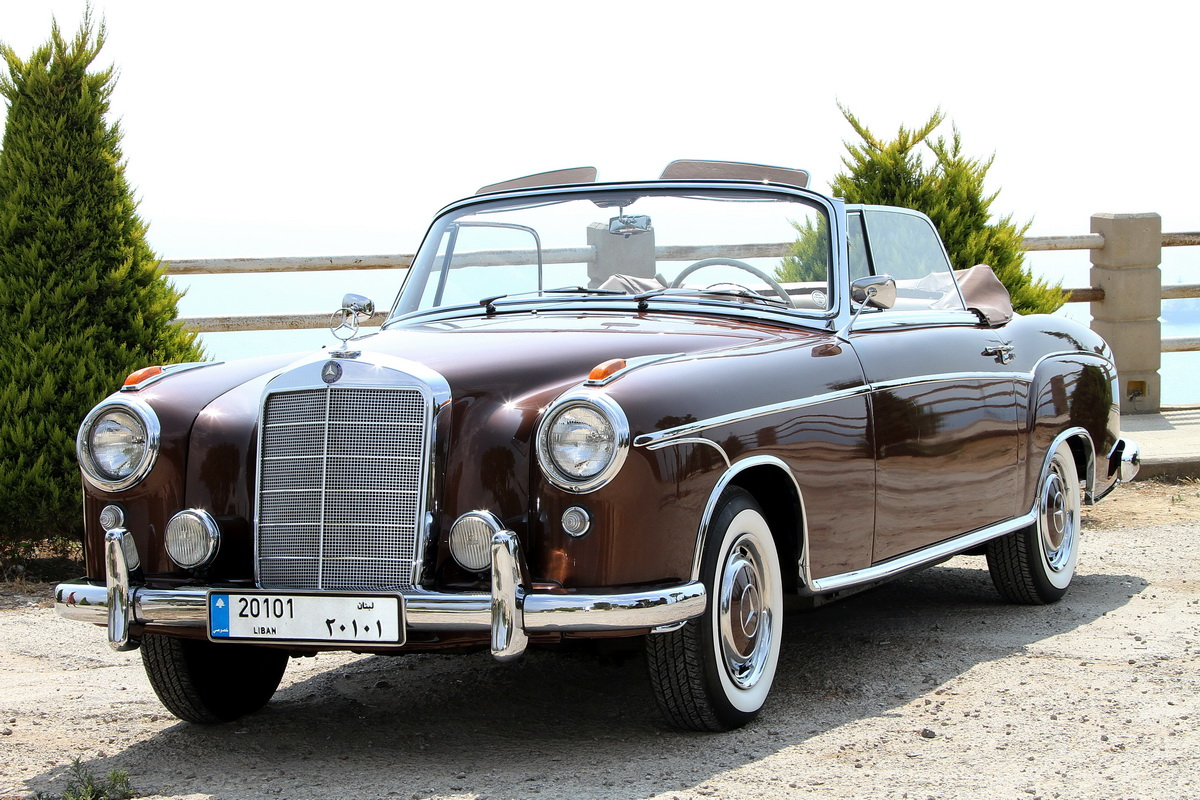 Raffoul traboulsy 39 s 1957 mercedes benz type 220s cabriolet for 1957 mercedes benz