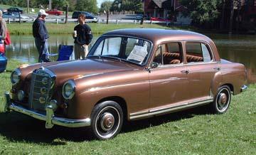 Andrew H Litkowiak S 1959 Mercedes Benz 220s Ponton Sedan