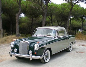 Malek mrowa 39 s mercedes benz pontons for 1958 mercedes benz 220s for sale