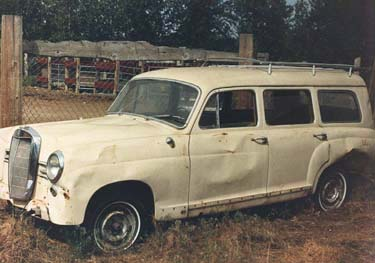 Mercedes benz ponton photo gallery variants www for Mercedes benz 180d for sale