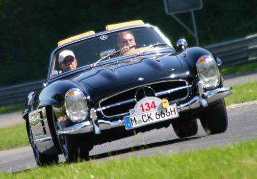 6 Cylinder Type 300SL Roadster Cabriolet (8/1957 2/1963) Carl Kellner And  Wolfgang Zwicker