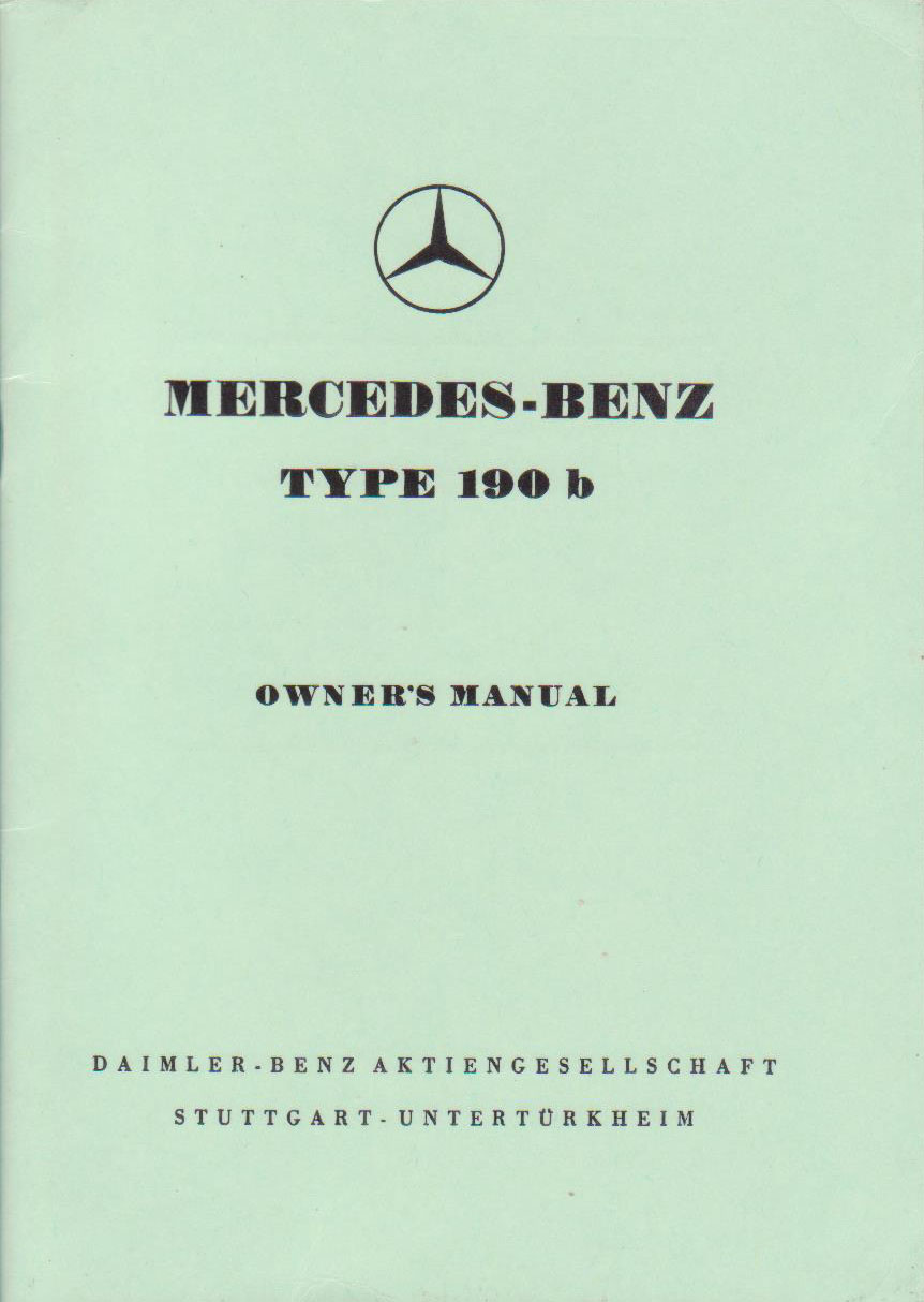Owneru0027s Manual Model 190b (English). 4 Mb .pdf