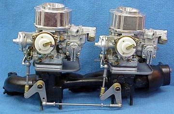 Mercedes Benz Ponton Type 220s Weber Carburetor Conversion